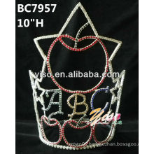 red crown tiara